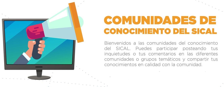 Situsjudi Perfil Comunidades De Conocimientos Sical